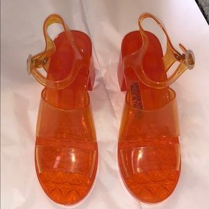 💋AMERICAN APPAREL JELLY SHOES